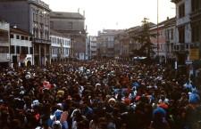 1983: giovedì grasso in Piazza Ferretto