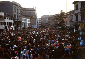 CARTOLINE carnevale mestre 1983