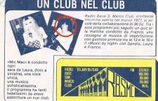 Il jingle con tutti i nomi degli speaker di Radio Base San Marco Club