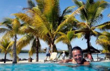 Stefano Zinno, console d'Italia alle Isole Mauritius. Sole, mare e tennis