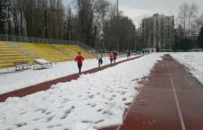 Corsa in pista con la neve (La Fenice Asd)