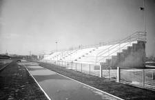 Le tribune della Pista di Atletica di San Giuliano (1958, Archivio La Fenice Asd))