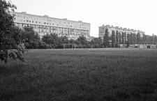 2013, la zona di Parco Bissuola è quella del campetto con le porte da calcio
