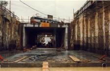 1988, la sofferta inaugurazione del primo Sottopasso sul Terraglio