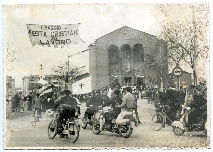 MARGHERA festa primo maggio 1959