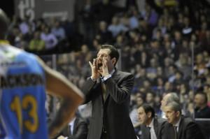 2013, Andrea Mazzon al Taliercio (Foto dal sito www.reyer.it)