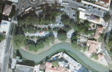 L'area del parcheggio ex Umberto I dove dovrebbe essere collocato il mercato
