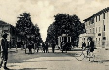 Viale Garibaldi da Carpenedo (cartolina)