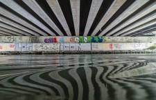 Sotto il ponte nei pressi del Peep (Ph. Selina Zampedri)
