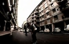 In giro per Mestre in skateboard
