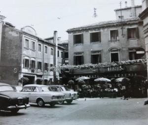 La prima sede presso il Ristorante Geremia (dal volantino Mestre Benefica)