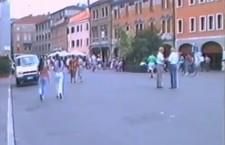 """dal video """"Ferragosto '94"""" di Piero Marvulli"""