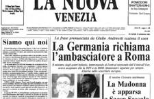 1984: il primo (finto) numero della Nuova Venezia. Una beffa del settimanale Venezia7