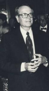 L'ex direttore Lamberto Sechi (foto Nuova Venezia)