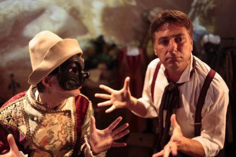 Davide Bozzato, la storia di Venezia in inglese ogni sera sul palco del Teatro S.Gallo