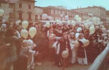 carnevale in piazza Ferretto (ph. Annamaria Bortolan)